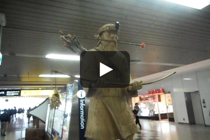 JR札幌駅西口の待ち合わせ場所