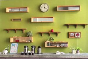 小樽文学館のカフェ
