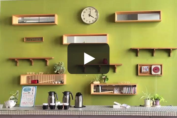 小樽文学館のカフェ・古本コーナー