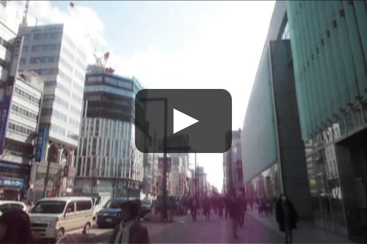 JR札幌駅から大通まで、地上を歩いて何分かかる?(タイムラプス)