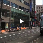 札幌市電を3分で廻る(タイムラプス)