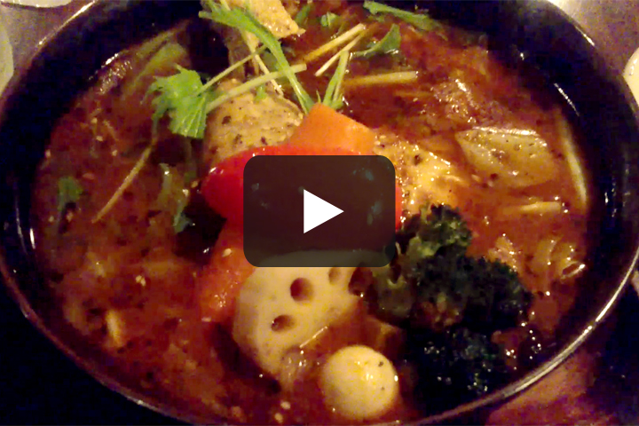 スープカレーGARAKUを食べる